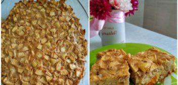 Яблочный пирог для тех, кто тщательно считает калории: авторский рецепт десерта от фитнес-тренера